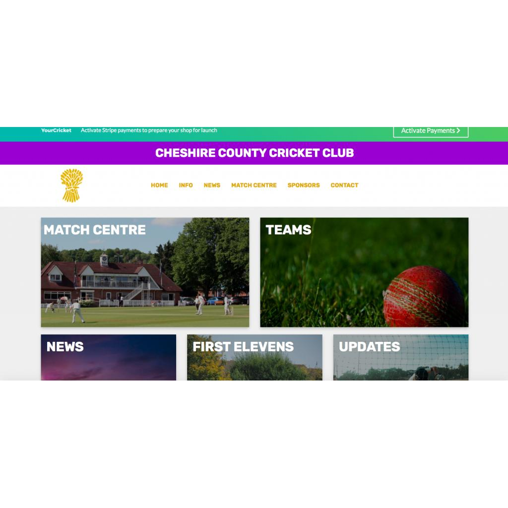 Welcome to the new Cheshire CCC website!