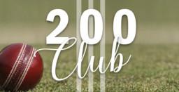 Cheshire CCC 200 Club