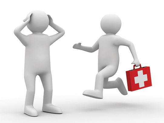 We're looking for first aid support at home games