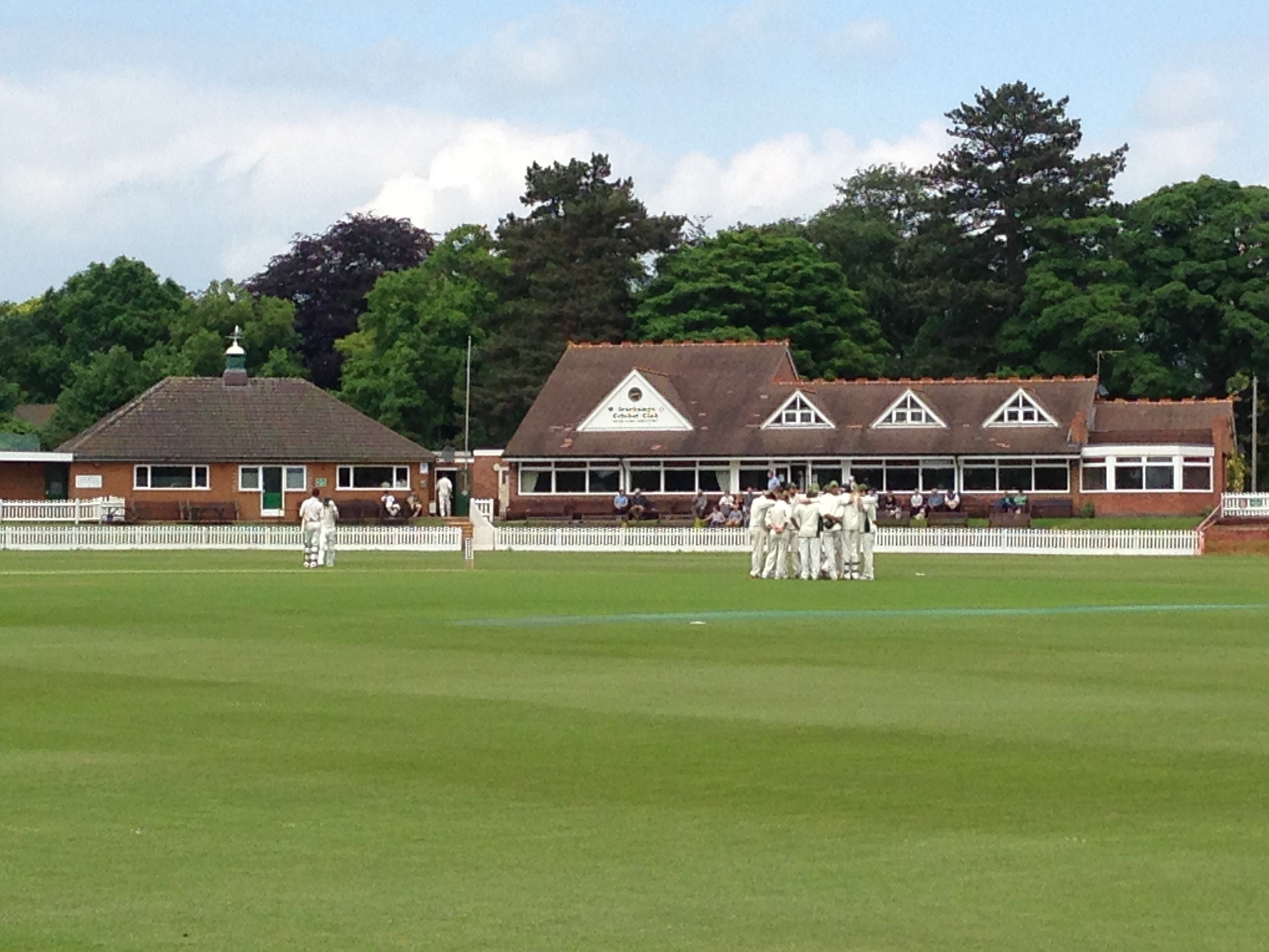 Academy in action v Staffordshire at Porthill Park CC (23 June) Follow LIVE