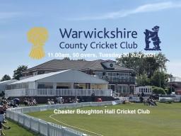 ECB Showcase Match: Cheshire CCC v Warwickshire CCC