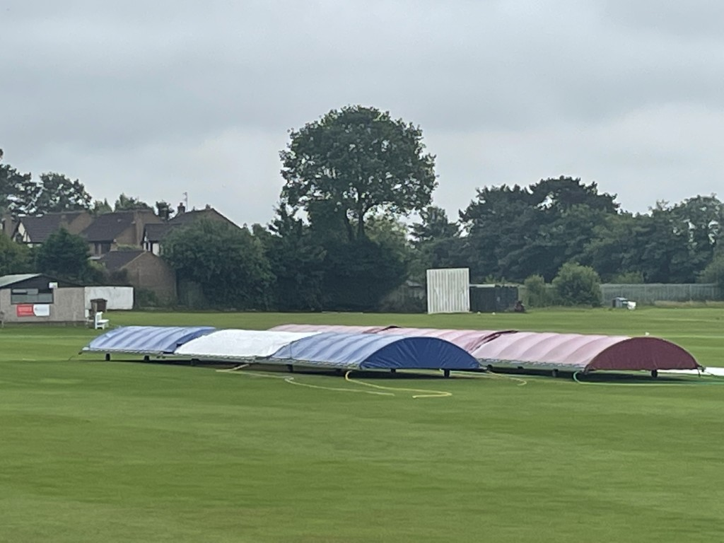 Day 2 washout at Oxton - just 17 minutes play